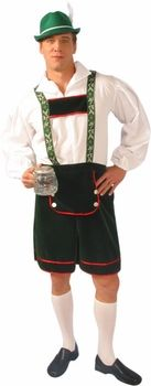 Adult Lederhosen Costume