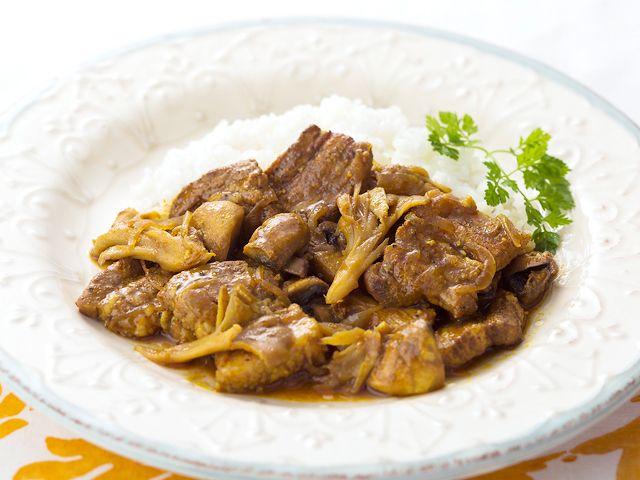 オールスパイスを効かせて豚肉が驚くほど美味しくなります。