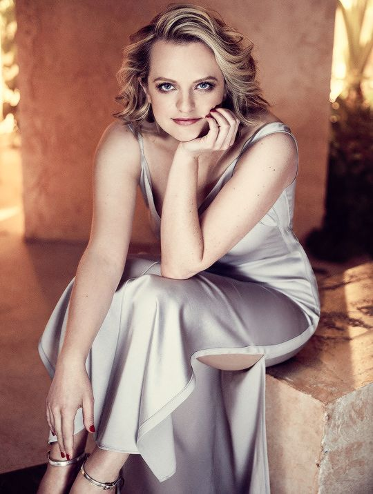 Elisabeth Moss photographed for The Hollywood Reporter.