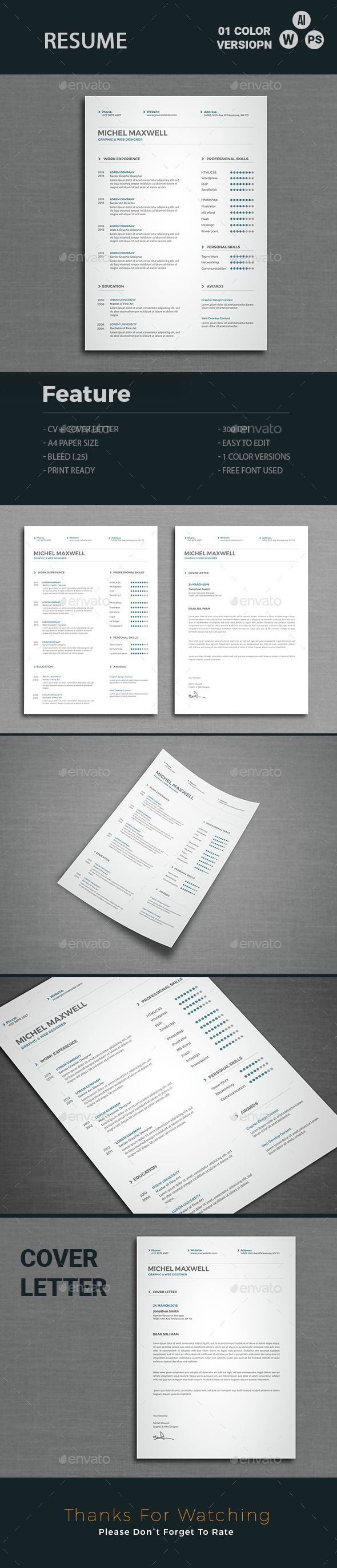 112 best resume templates images on pinterest resume cv cv