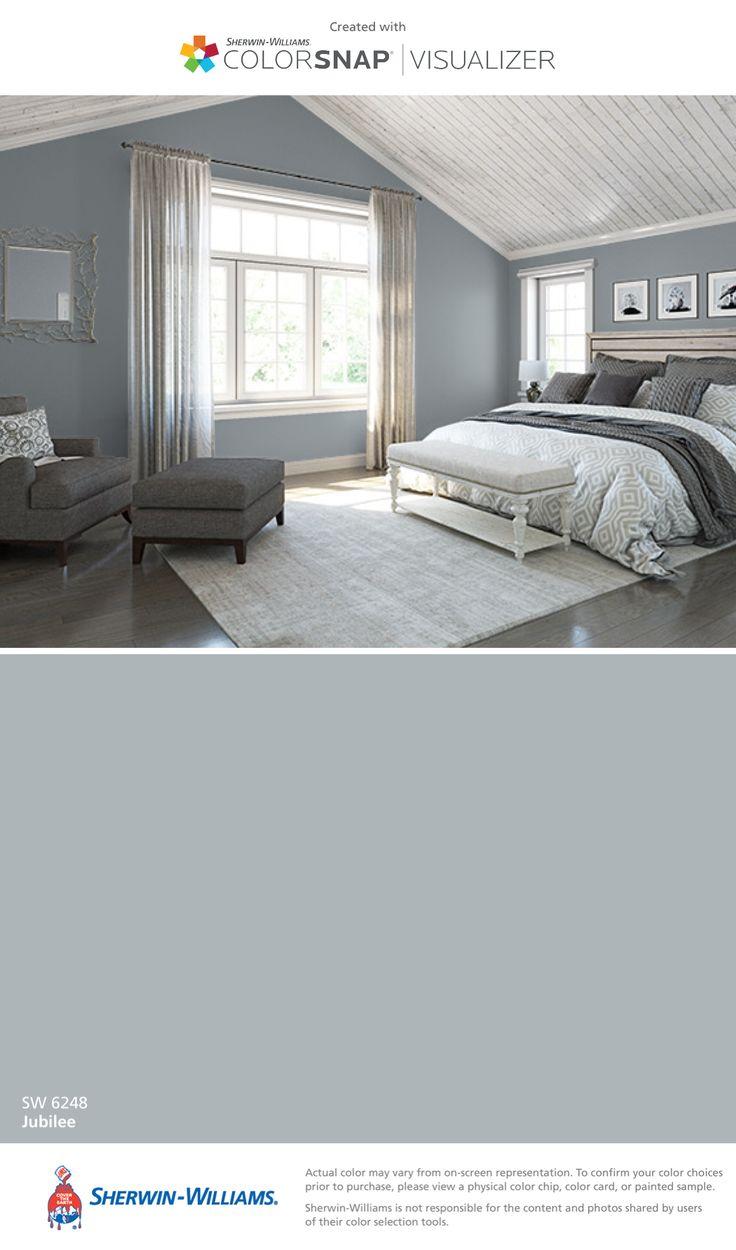 I found this color with ColorSnap® Visualizer for iPhone by Sherwin-Williams: Jubilee (SW 6248).