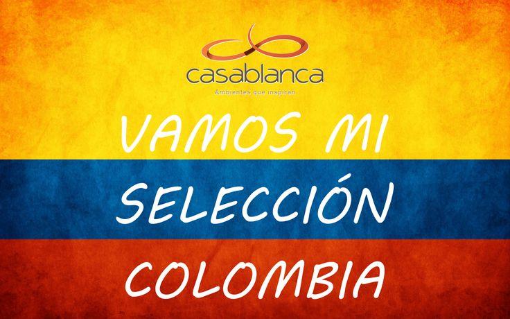 Apoyando a nuestra selección Colombia