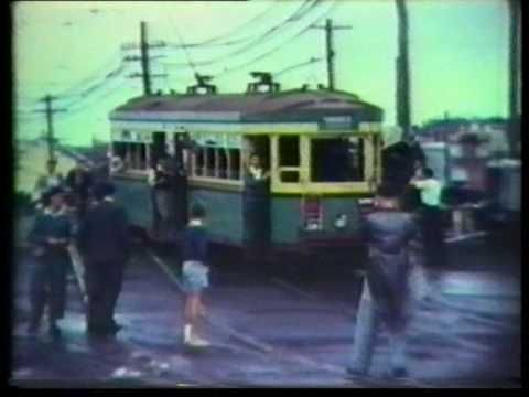 Last Trams in Sydney and Newcastle Feb 1961.