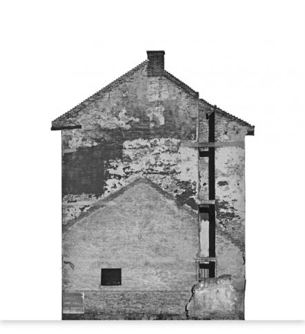 CZIGÁNY Ákos: Otthon - 6093 - 6109 (2014 - 106,7x100cm - archival pigment inkjet print (piezography))