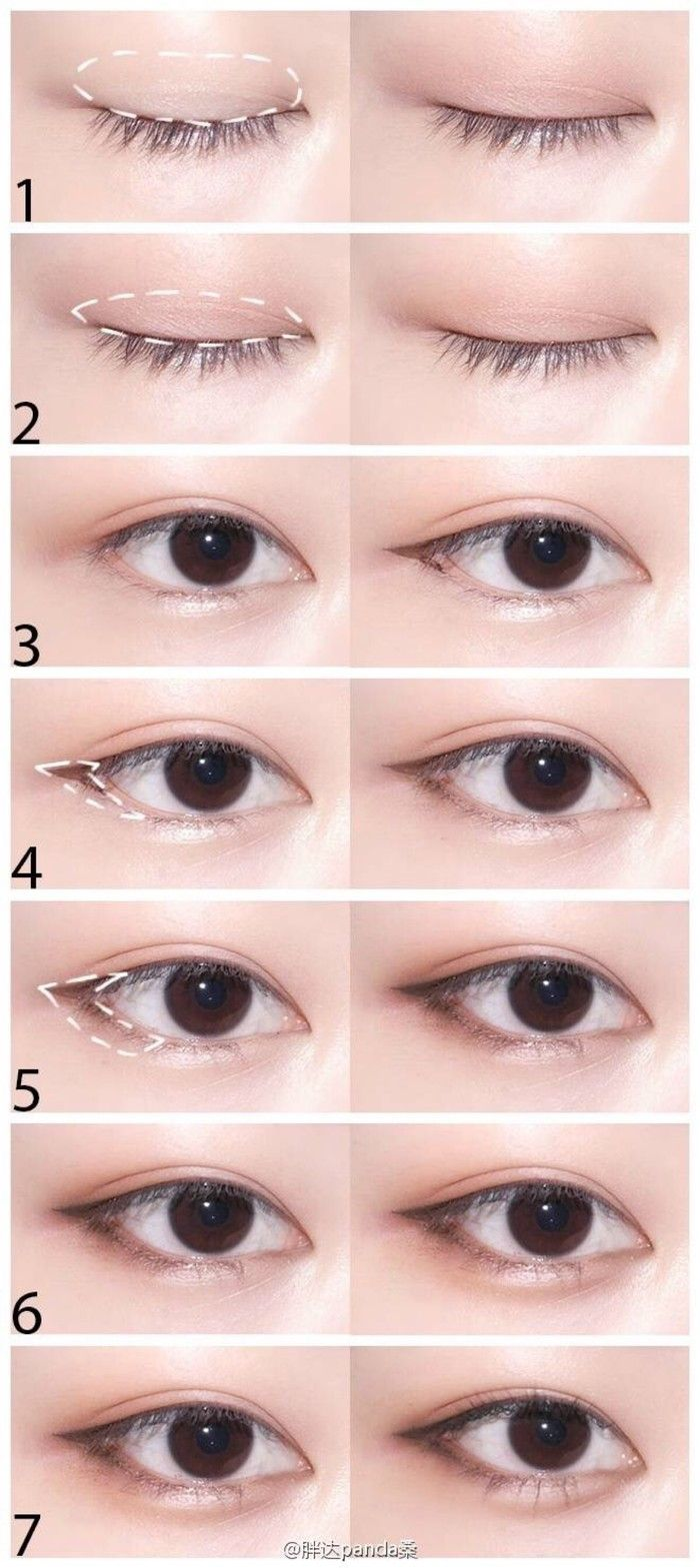 711 Best Eyes Makeup Steps Images On Pinterest