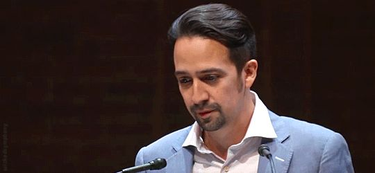 """""""The show drives home the fact that the American experiment is just that. It's an experiment."""" - Lin-Manuel Miranda"""