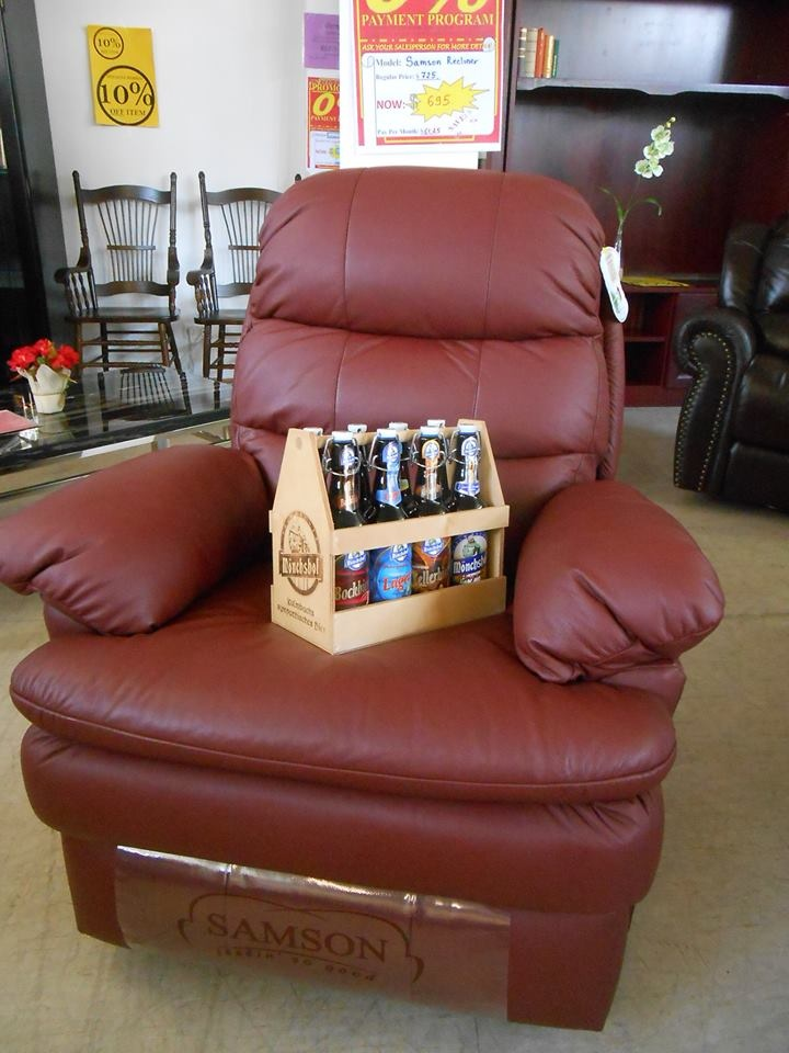 Fatheru0027s Day Promo get a pack of assorted Bavarian Beer with the purchase of leather & 125 best United Furniture images on Pinterest | Furniture online ... islam-shia.org