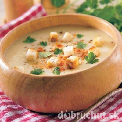 Kráľovská cesnaková polievka
