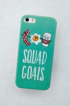 Squad Goals iPhone 5 Hard Case