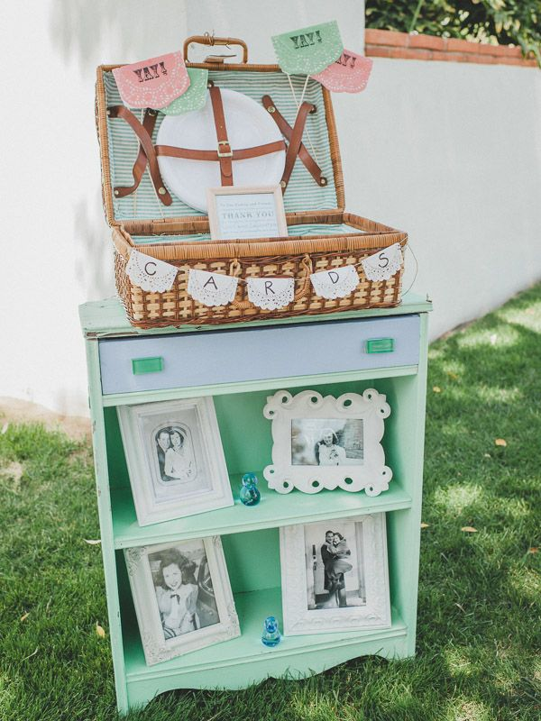 Malibu Hand Crafted Mint And Peach Wedding