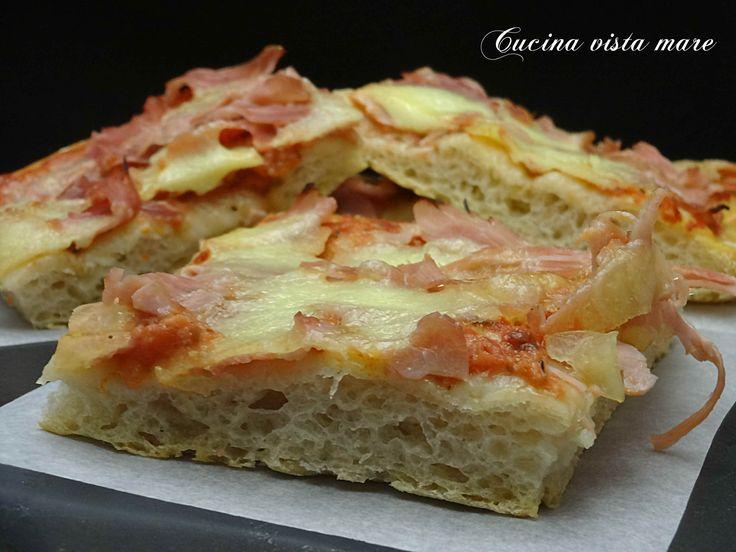 Pizza+con+esubero+di+pasta+madre