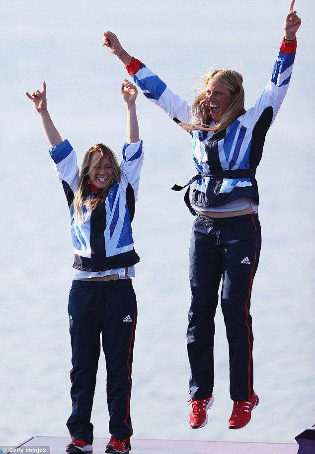 Hannah Mills (born 1988)and Saskia Clark(born, 1979,in Colchester)—Gold medalists in the sailing 470 class in Rio, 2016. They won the Silver medal in the 470 class in London 2012.