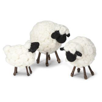 SET OF 3 SHEEP -