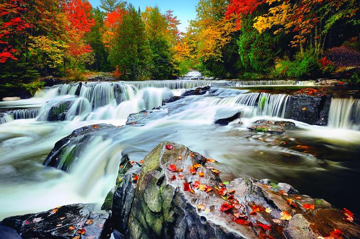 A List of Enchanting Michigan Waterfalls to Visit Year Round | Michigan