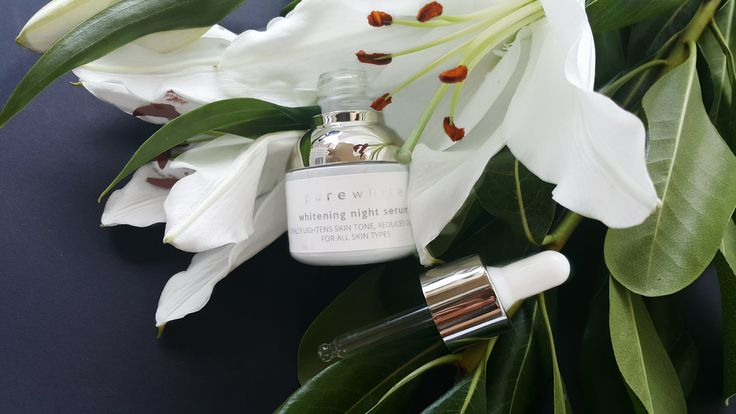 White Lily is a flower that renders women thier beauty, due to its beneficial effects on the skin. It is one of nature's brightening elements to create skin that looks healthy and illuminated. Rich in Omega 6 and Omega 9, hexadecanoic acid, stearic acid, phytosterols, tocopherols, it calms and hydrates, reduces skin irritations, lightens skin tone and takes care of sensitive skin. #purewhitecosmetics #naturalbeauty #whiteningserum #veganskincare
