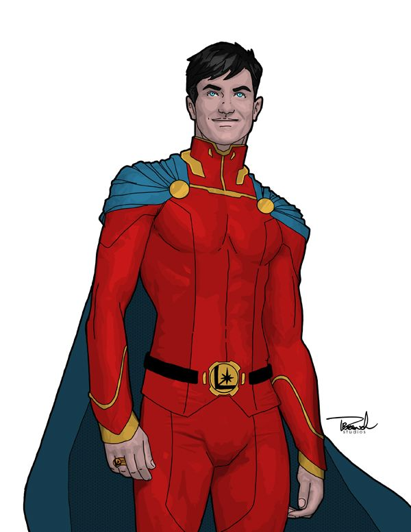 Mon-el by Thomas Branch could be a decent Superman redesign if tweaked a bit.
