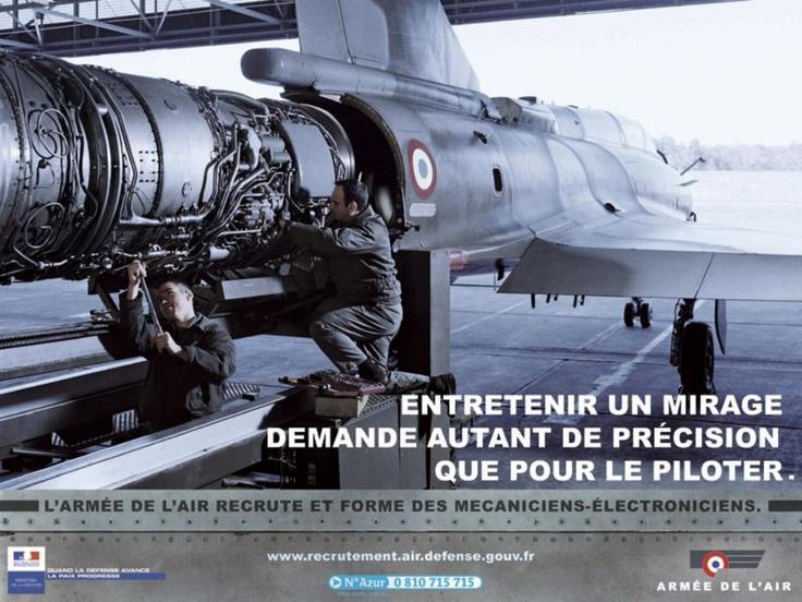 L'armée de l'air - L'armée de l'air recrute et forme