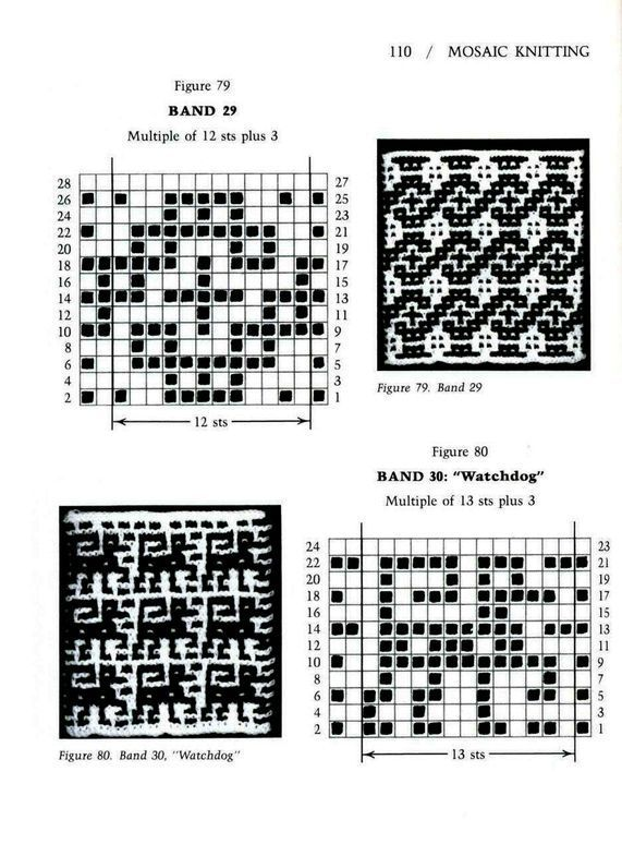 81 best Knitting - mosaic. images on Pinterest | Knit patterns ...