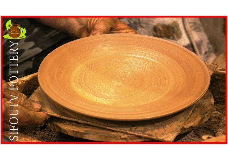 Pottery throwing - How to Make a Pottery Plate #78