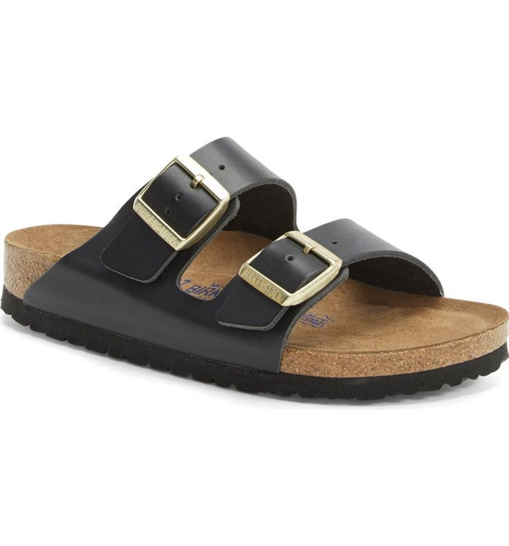 Birkenstock 'Arizona' Soft Footbed Sandal (Women)