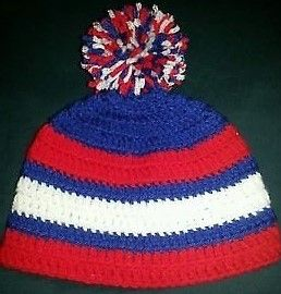 Montreal Canadiens Hat $20 Hats and Booties $25 Hats & Adult slippers $30 Headbands and Shoes $25 Headbands Shoes & Hat $30 Hat & Sweater $30-40 Hat & Diaper Sets $25 Hat & Cocoon Sets $30 If you don't see what you like just ask and I can make it. Any color and design. Add ears, flower, bow or animal. Hats from newborn to adult, diaper covers up to 9 months, sweaters up to 2 years. Cocoons up to 6 months contact - magicfingers1973@yahoo.ca