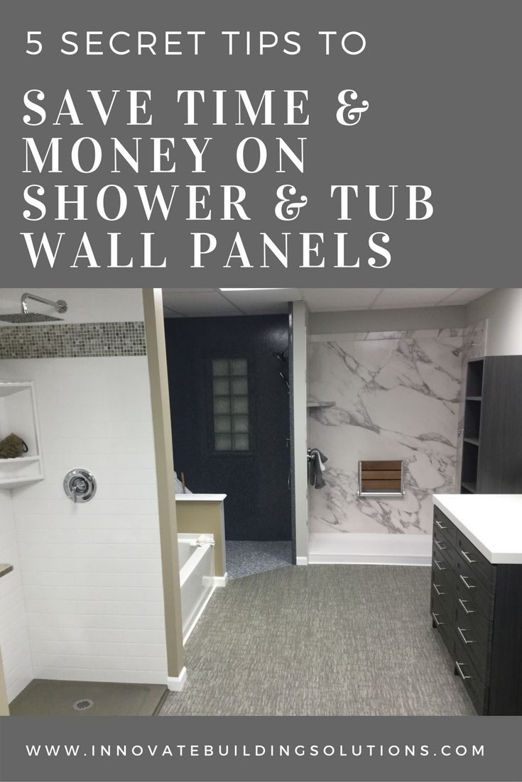 203 best Shower & Tub Wall Panels images on Pinterest | Bath remodel ...