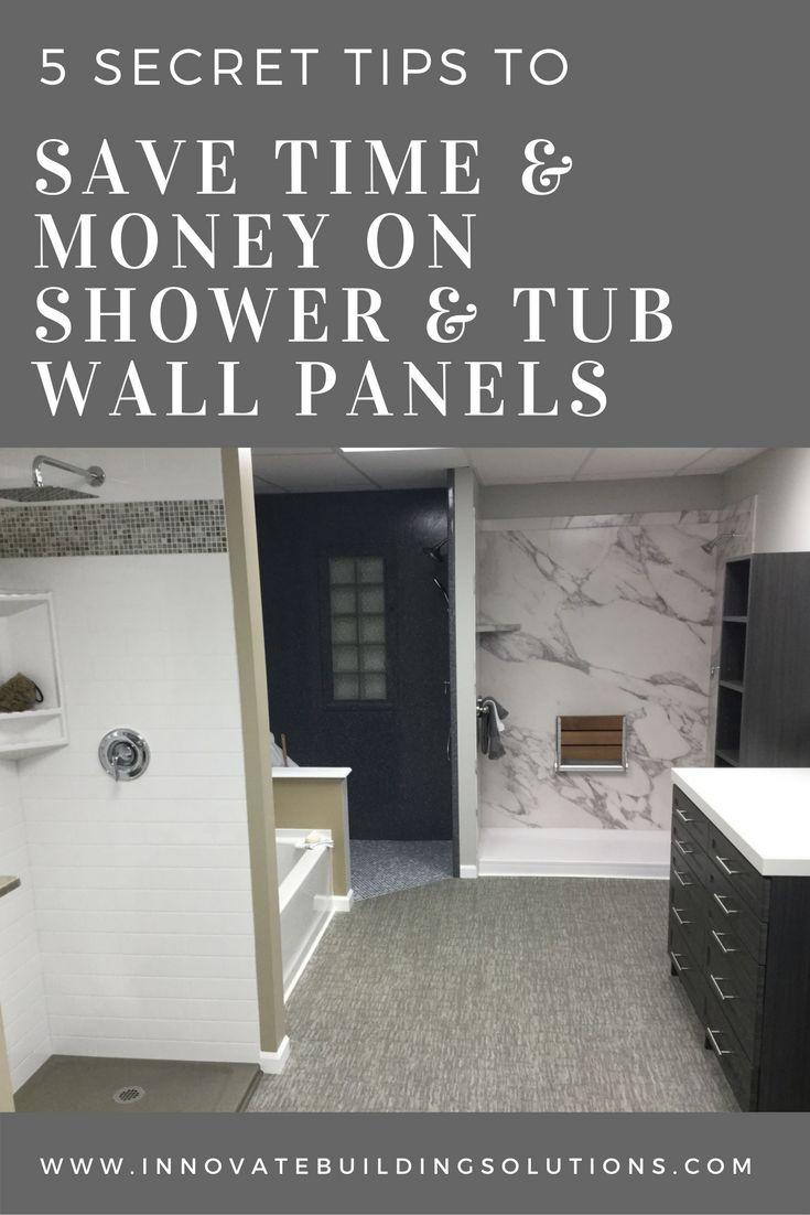 212 best Shower & Tub Wall Panels images on Pinterest | Bathroom ...