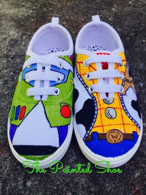 Zapatos  pintados Disney zapatos pintados  Toy Story zapatos