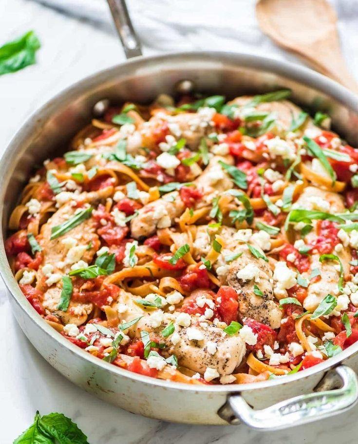 16 5ingredient chicken dinners in 2020  feta pasta
