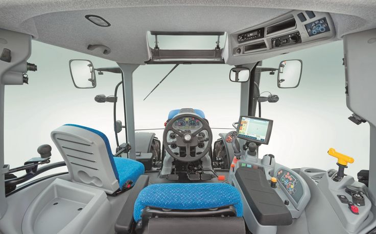New Holland T7 Cab Interior New Holland Ford