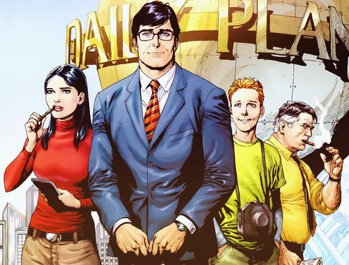 The Daily Planet's Finest  (Lois Lane, Clark Kent, Jimmy Olsen, Perry White)