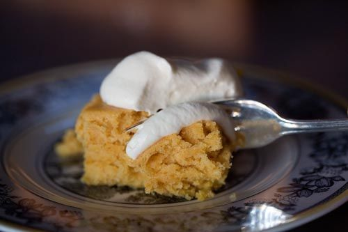 Pumpkin Cake with Whiskey Whipped Cream by Ree Drummond / The Pioneer ...