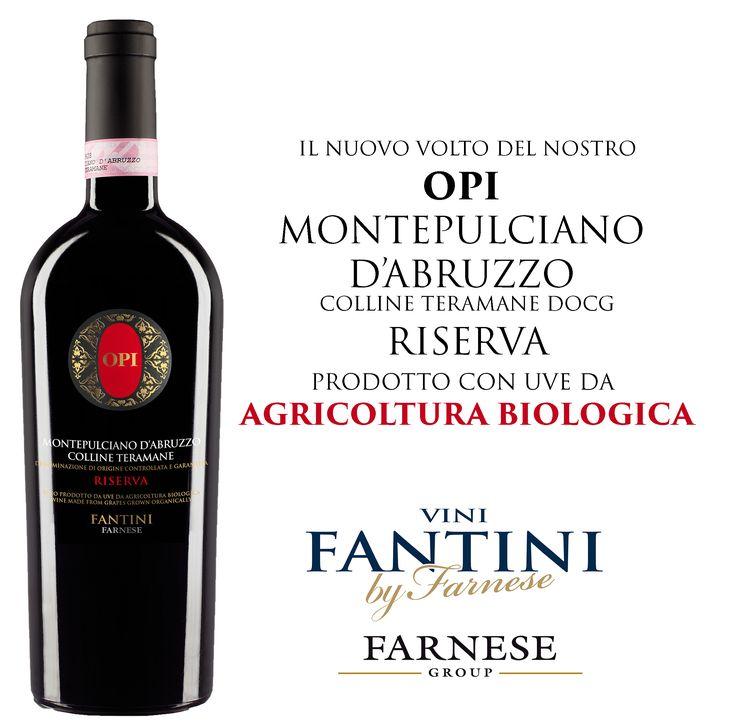 La nuova etichetta del nostro amato #OPI #Montepulciano. The new label of our beloved #OPI #Montepulciano. #vino, #wine, #vineyard, #vigneti, #vigna, #cantina, #farnesevini, #vinoitaliano, #italianwine, #vinitalien, #winetasting, #winelove, #winelovers, #winelover, #madeinitaly, #lovewine, #vigna, #vineyards, #grapes, #abruzzowine #fantini #vinifantini #opi #riserva #vinobiologico