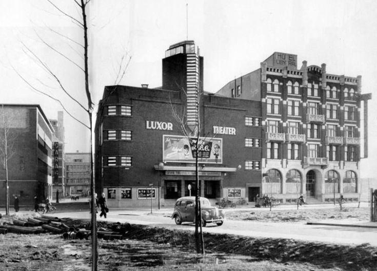 Rotterdam: Luxor en hotel Central 1950