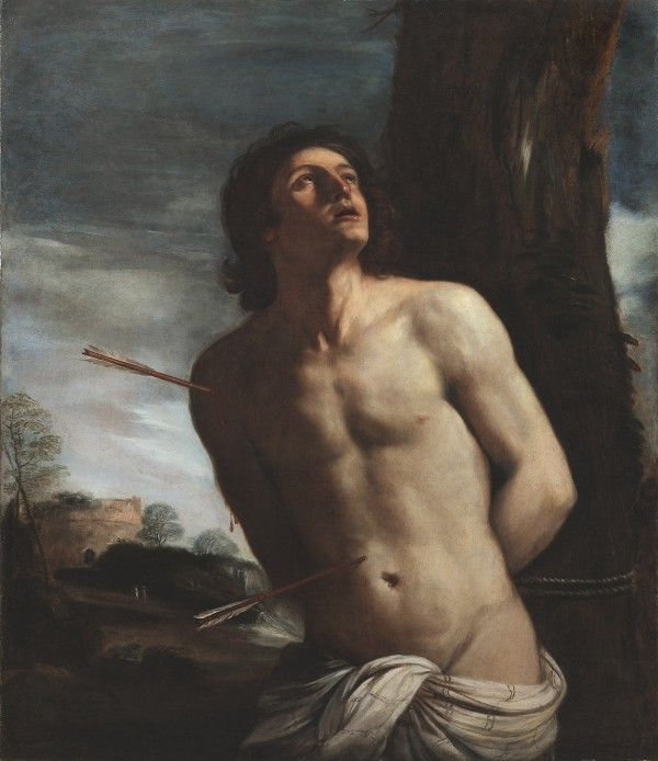 The painting is on its way to Turin where it will be exhibited along with other paintings of Saint Sebastion.