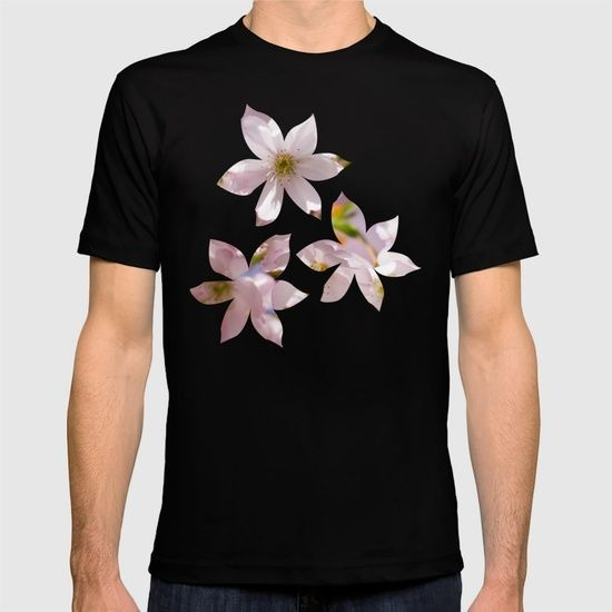 Spring Pink blossom branch T-shirt by #PLdesign #FlowerGift #spring #blossoms