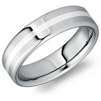 Crown Ring - Collections Alternative Metal Tungsten Carbide Tu 0119 Si