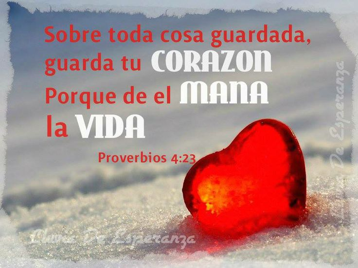 Sobre toda cosa guardada, guarda tu corazon. | Jesus mi