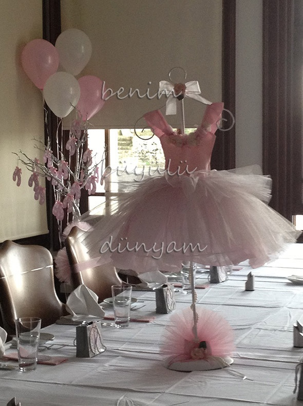Organizasyonlar, doğum günü partileri, #balerinpartisi #doğumgünüpartisuslemeler