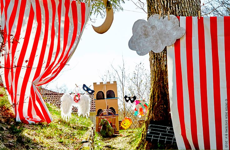 Un théâtre en plein air...#IKEA #vacances #jeux #passetemps