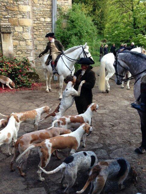 Via official Poldark - Release the hounds