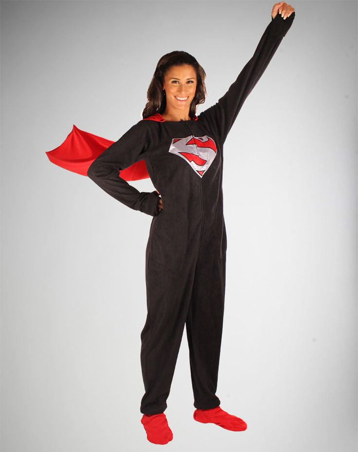 Adult superman pajamas have quickly