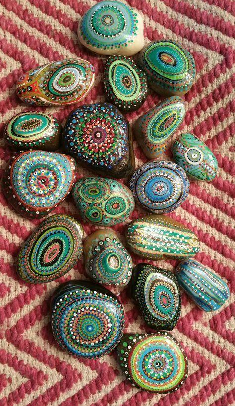 Mandala Market Gardens The Layout: 25+ Best Ideas About Painted Garden Rocks On Pinterest