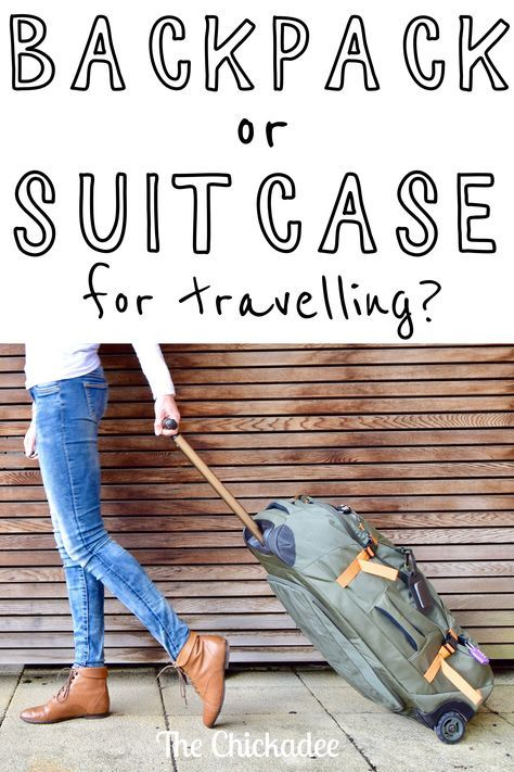 Do you need a backpack or a suitcase for travelling? There are pros and cons of each, but I suggest you buy neither... or rather, both... here's why to get a Hybrid bag! Click through to read the full article.