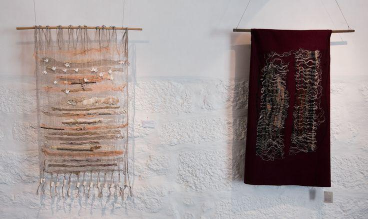 Two tapestries by Helena Cardoso. Photo by Luís Ferreira Alves.