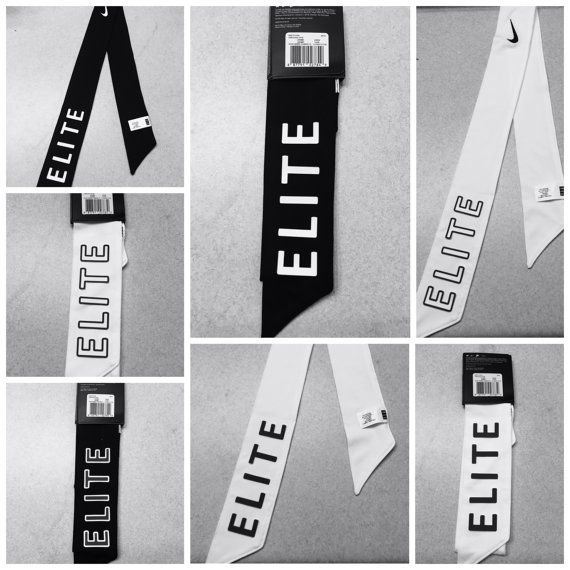 Custom ELITE Phrase Nike Dri-Fit Head Tie Headband by B3UATHLETICS