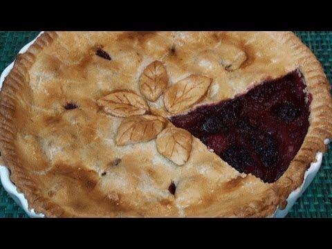 ▶ Blackberry and Apple Pie Recipe - YouTube