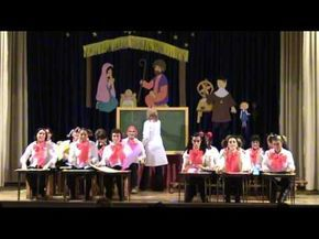 Villancico de las vocales Padres 2011 - YouTube