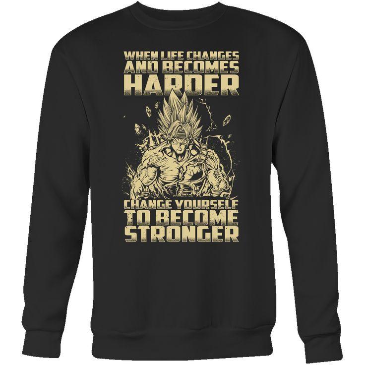 Super Saiyan Bardock become stronger Sweatshirt Shirt - TL00476SW
