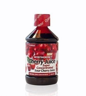 Optima Montmorency Cherry Juice Super Concentrate 500ml Only the highest quality Montmorency cherries are used to produce this product